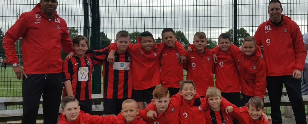 under 11s Reds Match report vs. AFC Stanley Blacks (7th October 2017)