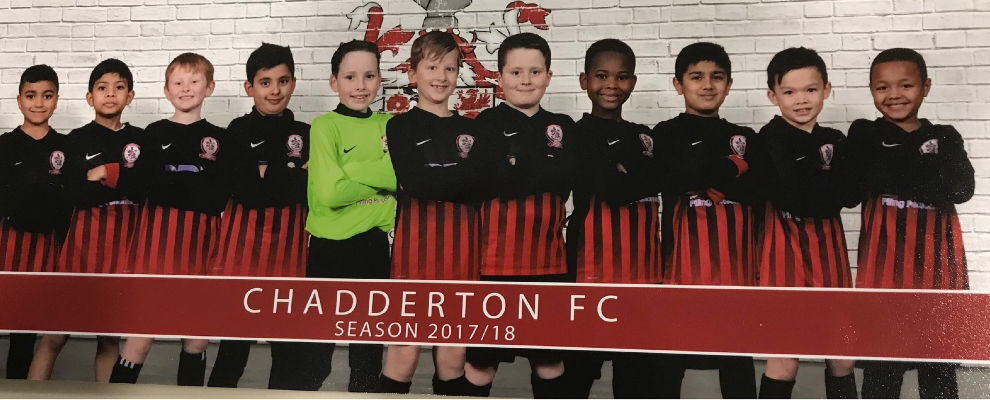 Chaddy U9 Stripes v Haughton Green 14/4