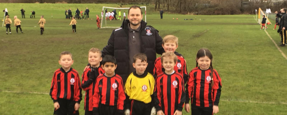 Chaddy fc Blacks u7 Match report 25/2/18