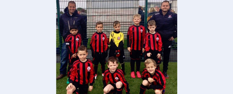 U8 Blacks v Springfield