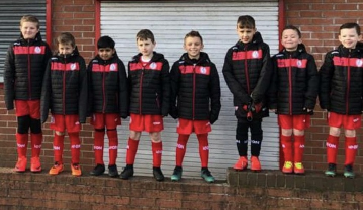 U8 Blacks - New Sponsor