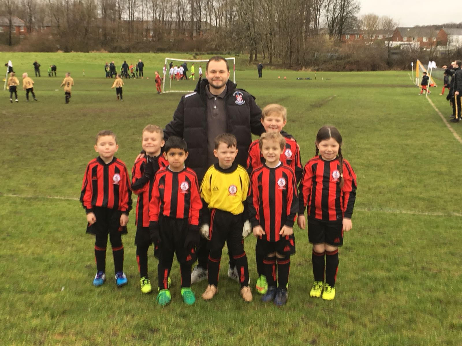 15/4/18  Match Report U7 Blacks v Springfield Monsoon U7